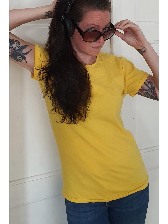 marian for president vintage second hand upcycling tričko s potiskem burg