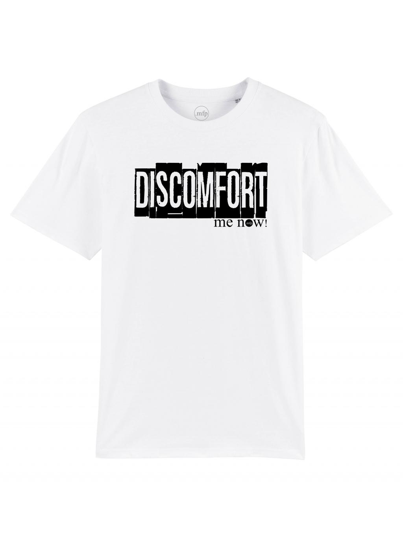 discomfort white