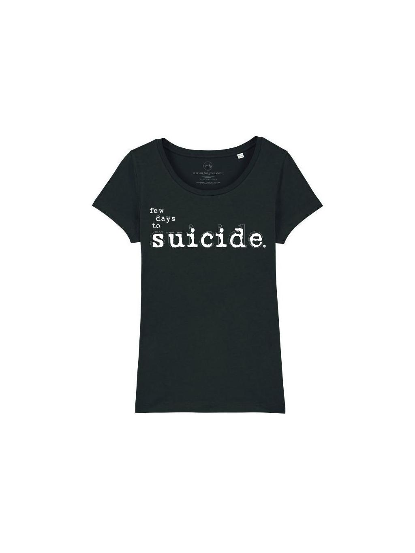 ew days tričko s potiskem black front
