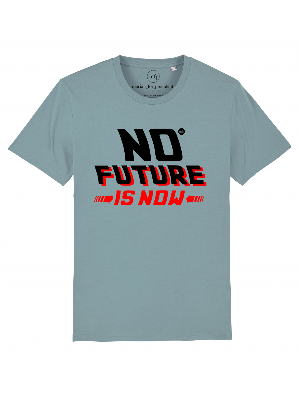 no future tee blue