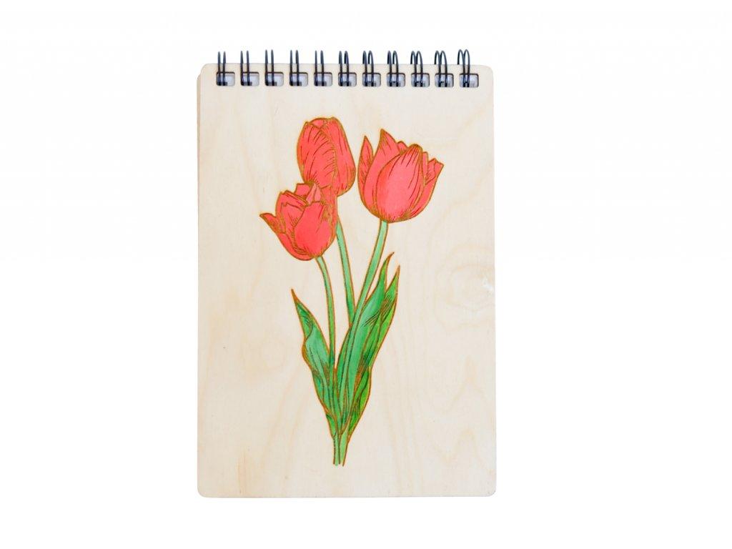 Zápisník Tulipán