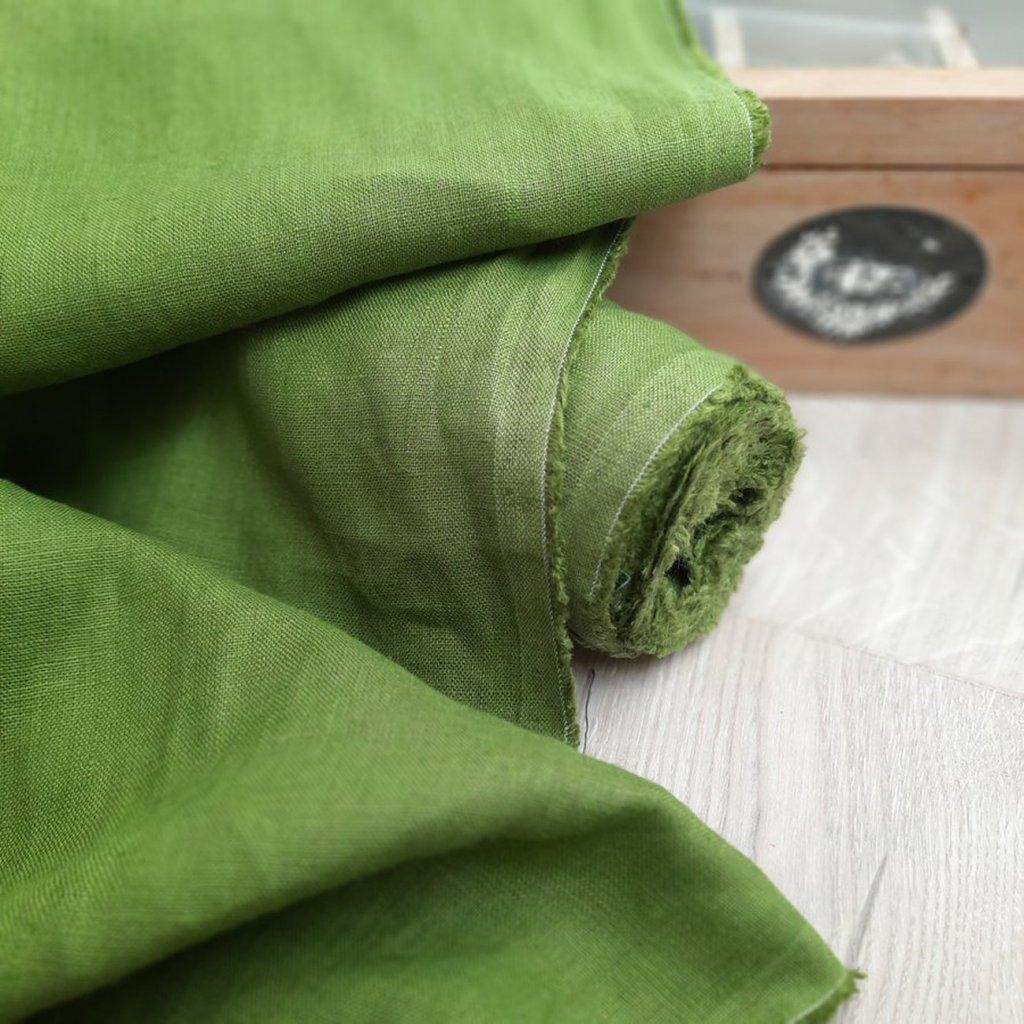 100% len GREEN TEA 190g/m2