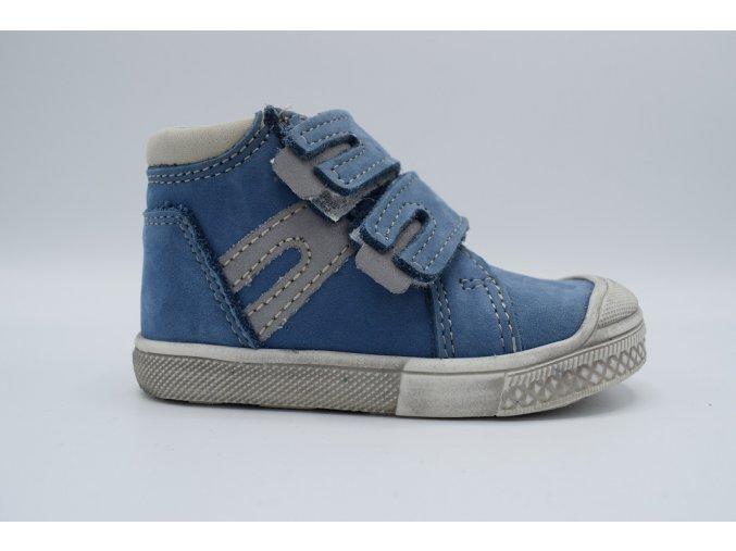 Dětská kotníková obuv T 316V Světle modrá