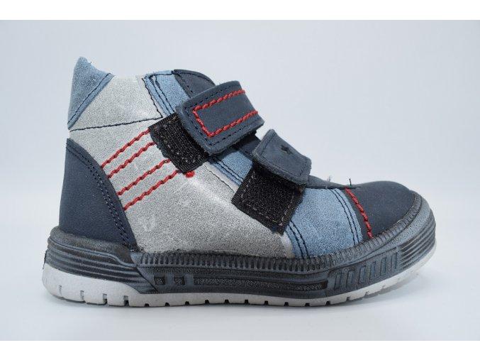 Dětská kotníková obuv S 2764 modrá
