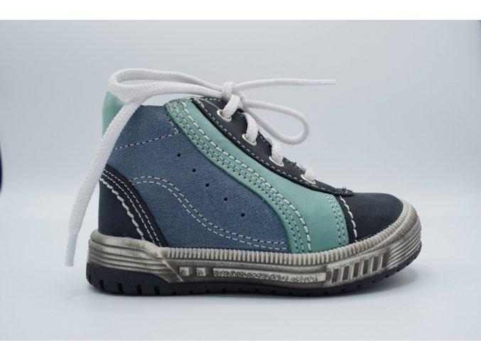 Dětská kotníková obuv S 1763 modrá
