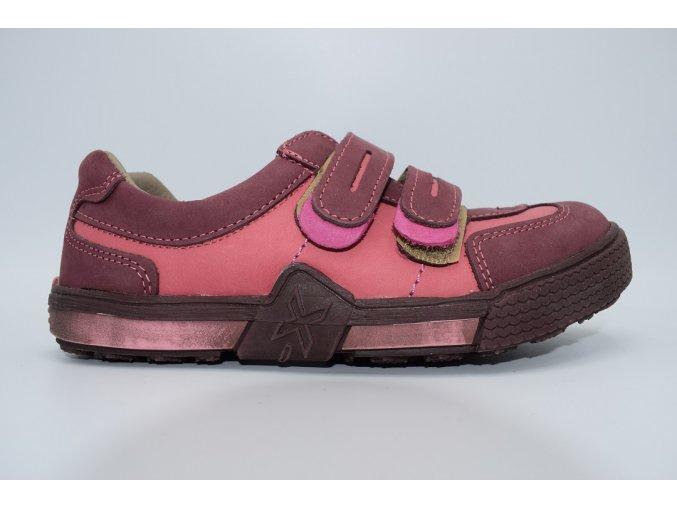 Dětská nízká obuv E 1150 Bordo
