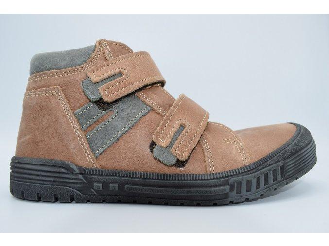Dětská kotníková obuv T 715V Hnědá