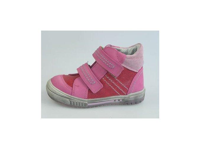 Dětská kotníková obuv S 1646 Červená