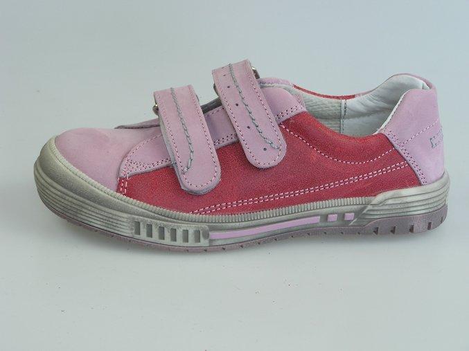 Dětská nízká obuv S 1682 Červená