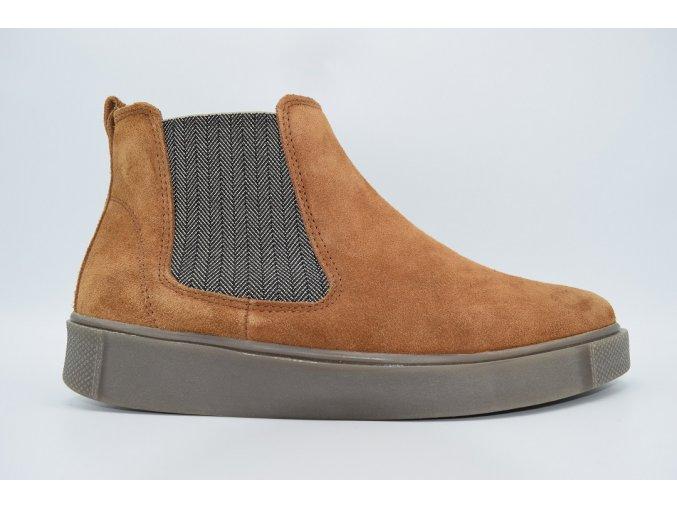 Dámská vycházková kotníková obuv 01561/51 Abby cognac
