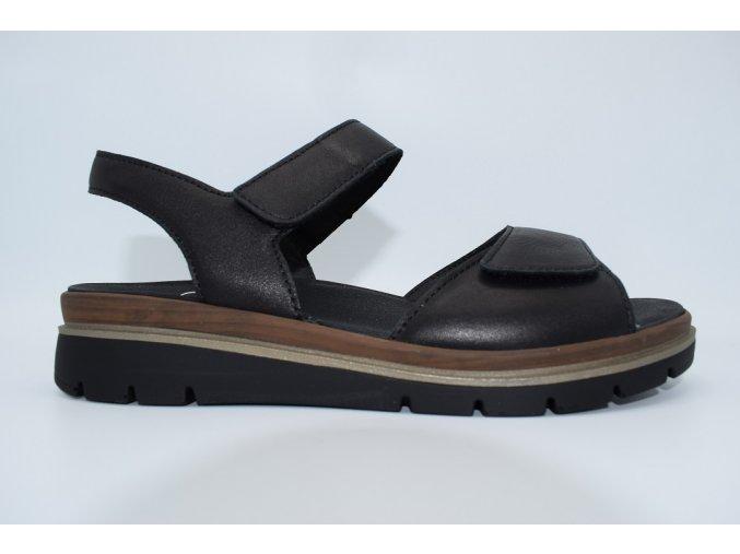Dámský sandál FI 595023/10 schwarz