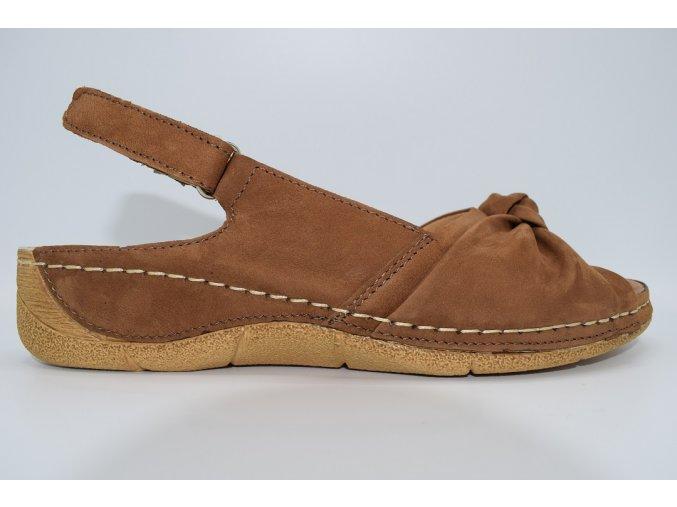Dámský sandál WA-687/K2BN brown