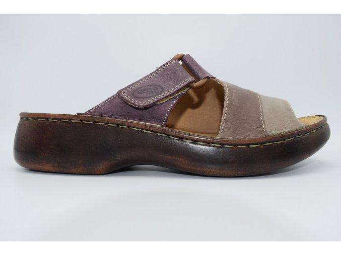 Dámský pantofel 2053 fialová