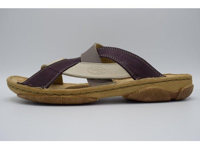 Dámský pantofel 4086 fialová