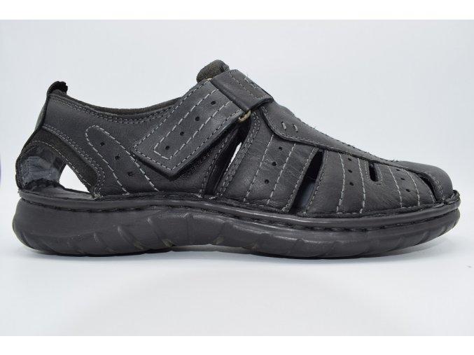 Pánský sandál CB/20570 NERO