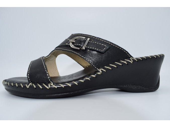 Dámský pantofel 8153 Nero