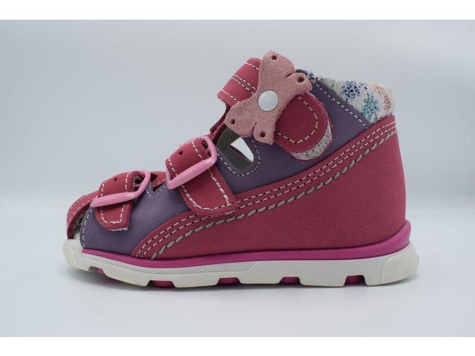 Dětský sandál S 1713R cyklamen