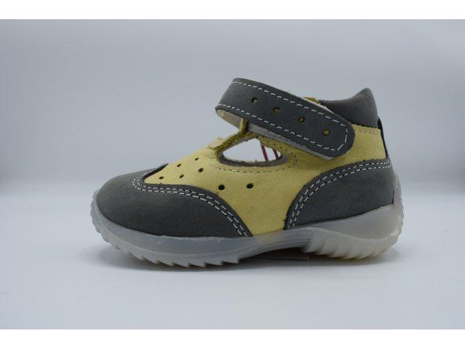 Dětský sandál SL/10 ŠEDÁ