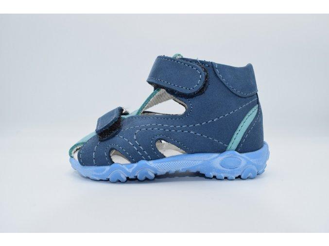 Dětský sandál T515 modrá
