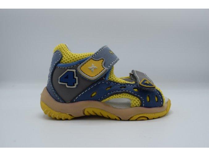 Dětský sandál RN/107 modrý