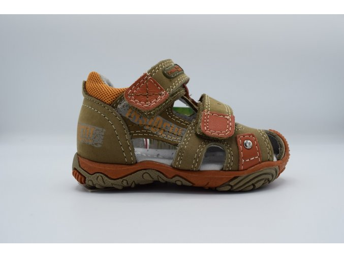 Dětský sandál Rasty orange