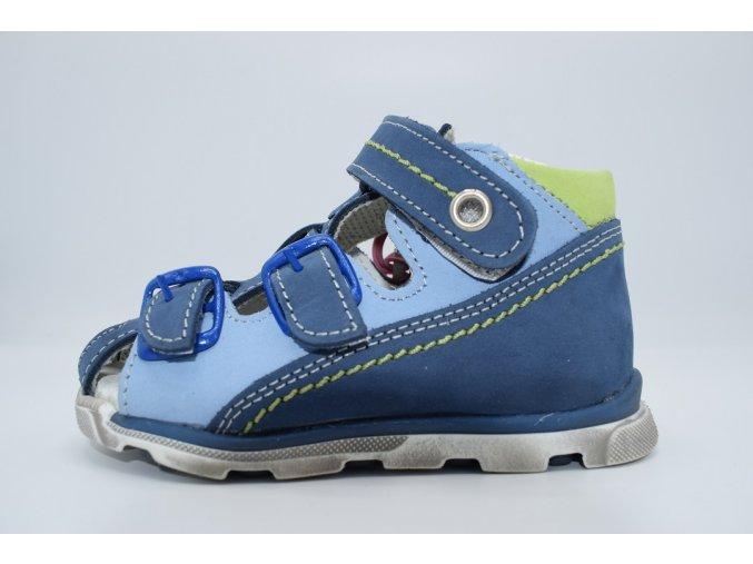 Dětský sandál S 1813R modrá