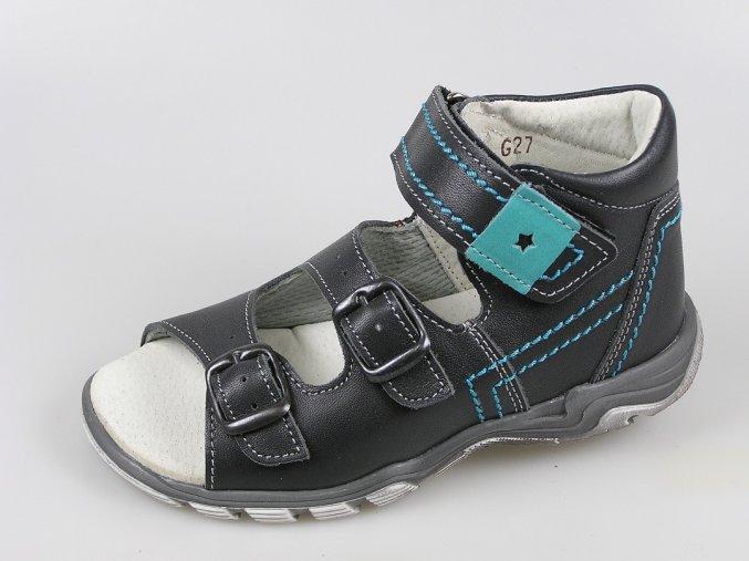 Dětský sandál S 7035 černá