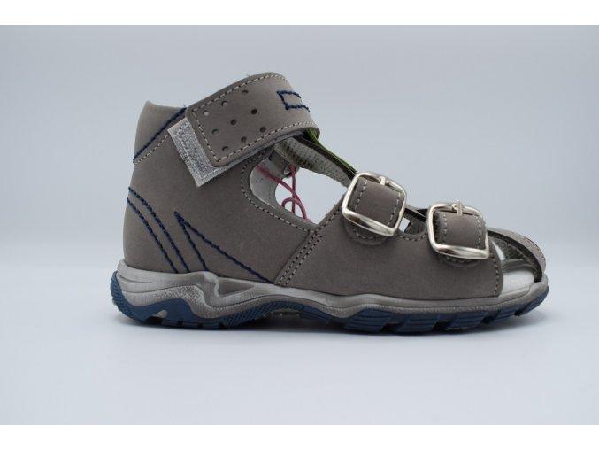 Dětský sandál S 3050 šedá