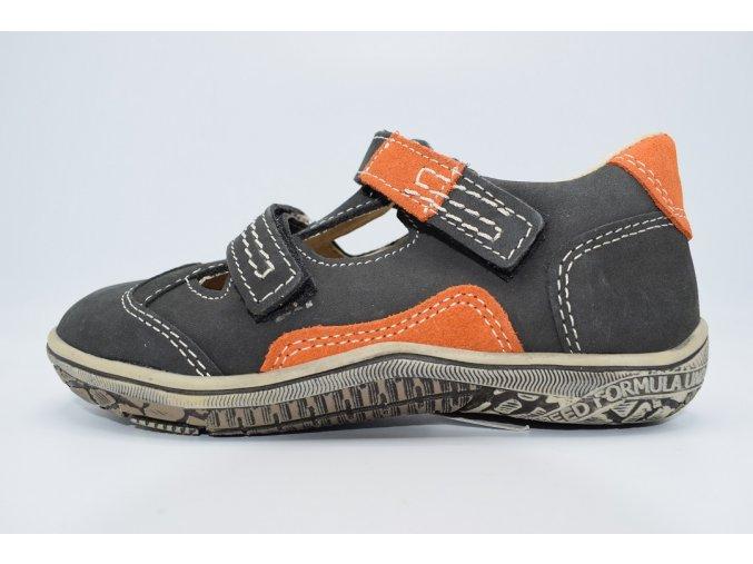 Dětský sandál EX4489 šedá