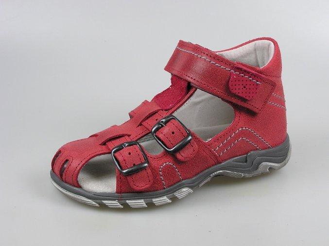 Dětský sandál S 3050 červená