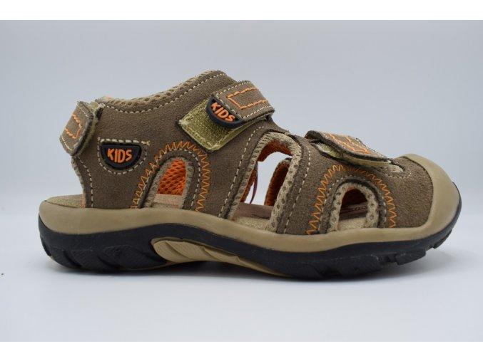 Dětský sandál kids oranžová