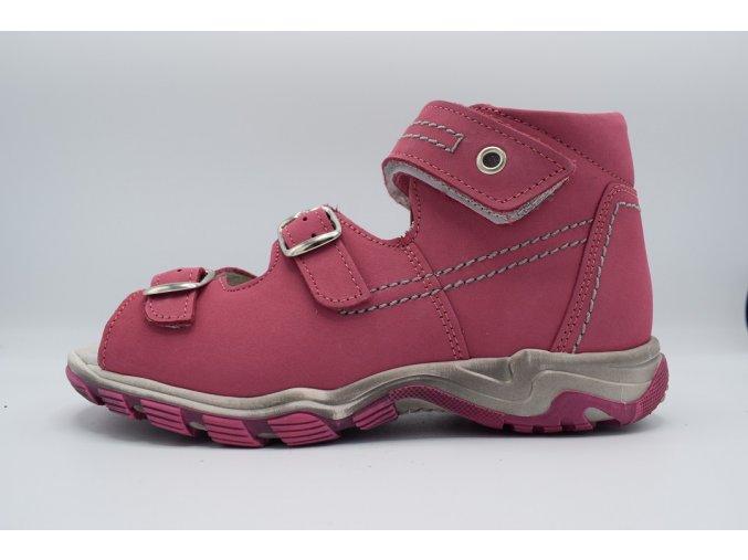 Dětský sandál S 7035 cyklamen