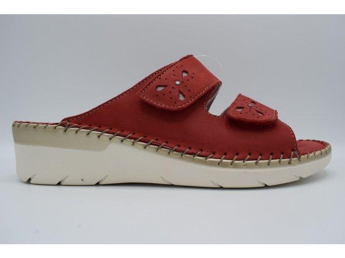 Dámský pantofel BICO CI2869-30 ROSSO