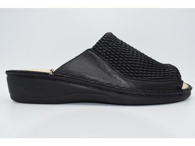 Dámský pantofel 038-2472 Black