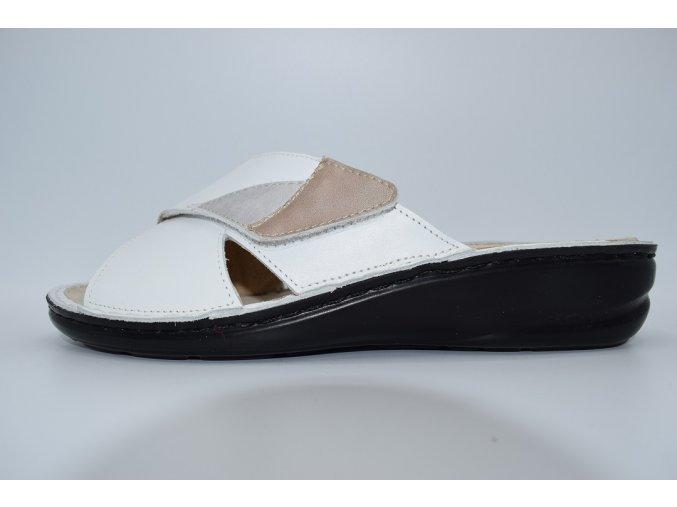 Dámský pantofel IB 15007-4 WHITE