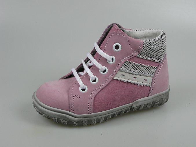 Dětská kotníková obuv S 2145 růžová
