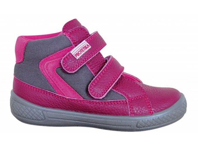 Dětská kotníková obuv Aura fialová