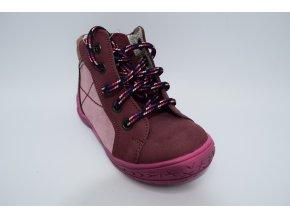 Dětská kotníková obuv E 1243 Černá