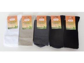 Ponožky Bambusové se stříbrem Vanimar