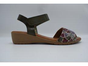 Dámský sandál SW 7151 khaki