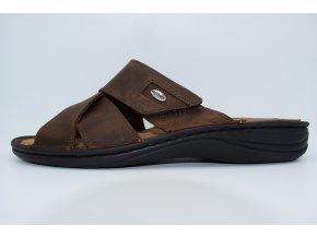 Pánský pantofel LINO CE0689-68 MORO