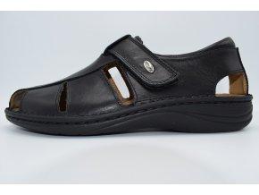 Pánský sandál LINO SE0015-68 NERO