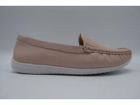 Dámská obuv RM/83402 NUDE