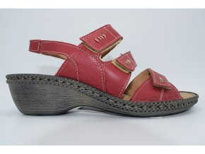 Dámský sandál Izabela červená