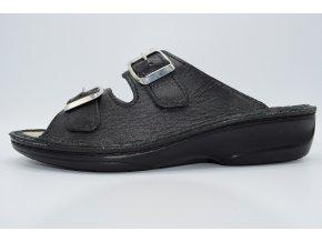 Dámský pantofel MJ 3718 ČERNÁ