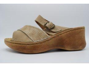 Dámský pantofel 3063 béžová