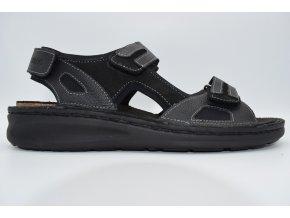 Pánský sandál FI/366028-10 SCHWARZ