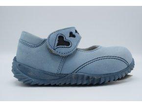 Dětská balerína E 1119 Jeans