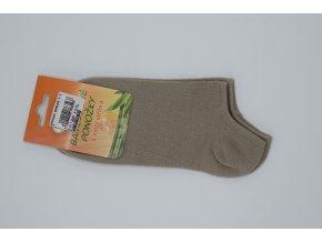 Ponožky Bambusové se stříbrem Vanimar nízké