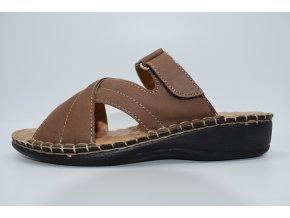 Dámský pantofel W090041 BROWN